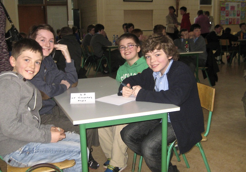 junior quiz team